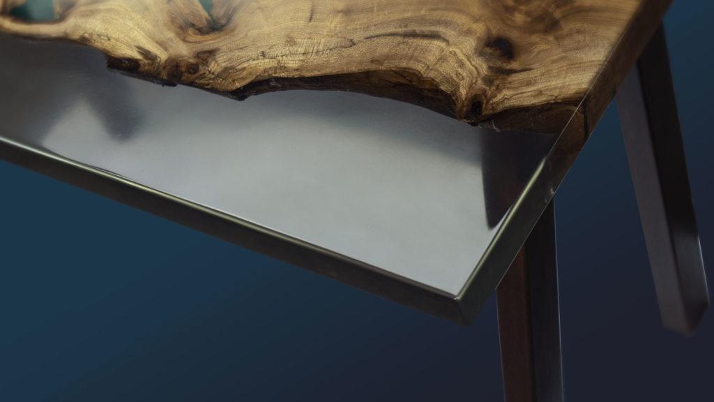 Menuiserie d'art et ameublement en bois et résine - ABT Menuiserie